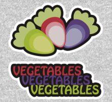 Veggies Shirt 1 Kids Tee