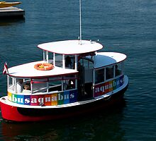 Aquabus to Granville Island by MaluC