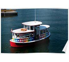 Aquabus to Granville Island Poster