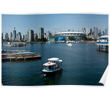 Vancouver Harbour, a View Poster