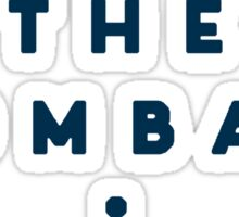 The Wombats - Logo Sticker