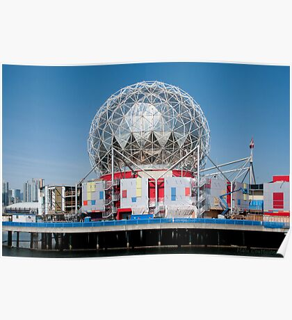 Science World in Vancouver Poster