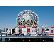 Science World in Vancouver Photographic Print