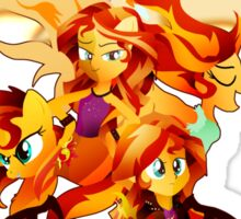 Sunset Shimmer Sticker