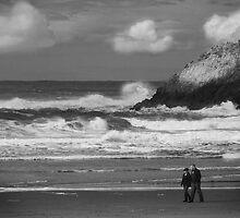 Tsuname Warning by Brian Leadingham