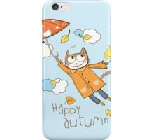 Happy autumn. iPhone Case/Skin
