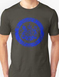 On her Majesty's secret service logo  - BLUE T-Shirt