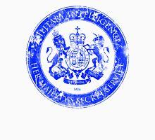 On her Majesty's secret service logo  - BLUE Unisex T-Shirt