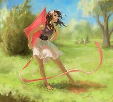 Spring Wind by Lane Brown