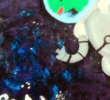 Astro Newt! Sticker