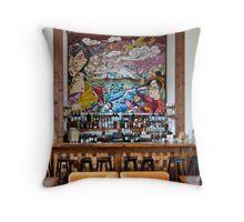 PTown Sushi Bar Throw Pillow