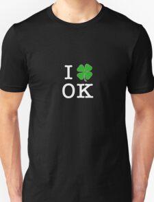 I (Club) OK (white letters) Unisex T-Shirt