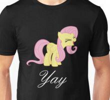 Fluttershy yay Unisex T-Shirt