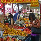 Queen Victoria Market, Melbourne. by Maggie Hegarty
