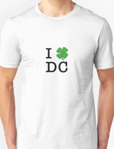 I (Club) DC (black letters) T-Shirt