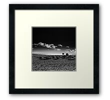 Reflecting on the Absent Framed Print