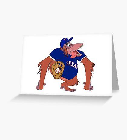 Texas 'Rangers Greeting Card