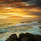 The Changing Hues - Little Bay NSW by Mark  Lucey