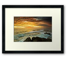 The Platform - Long Bay Framed Print