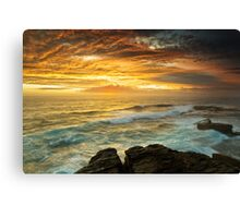 The Platform - Long Bay Canvas Print