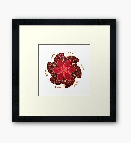 Ishq (Passion) Framed Print