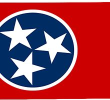 Tennessee State Flag by ericbracewell