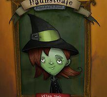Hauntsdale Boarding School_Wilma by Michael Bruza