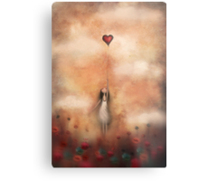 loVe from up above Metal Print