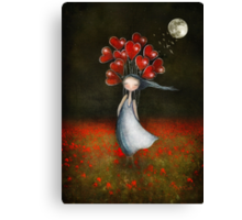 lOve in abundance Canvas Print