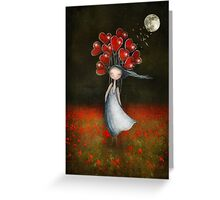 lOve in abundance Greeting Card