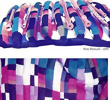 Pillow for Flutes - 1985 by Nira Dabush