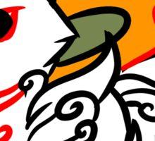 Okami Okamiden Wolf Puppy  Sticker