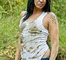 Dirty White Tank Top by Jena Ferguson
