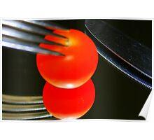 Bright tomato Poster