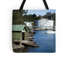 Boat Shed, Gore Cove, Sydney Harbour Tote Bag