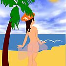 At the beach  by aldona