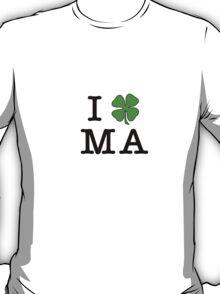 I (Club) MA (black letters) T-Shirt