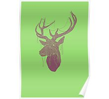 The Deer Head Poster