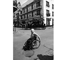 French Quarter Transportation Photographic Print
