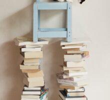 The Bookworm Sticker