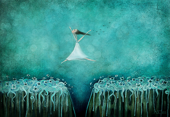 Leap of faith by Amanda  Cass