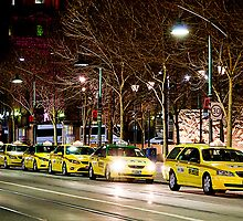 Taxi Rank by kraMPhotografie