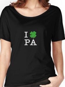 I (Club) PA (white letters) Women's Relaxed Fit T-Shirt