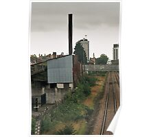 Industrial Chimney Poster