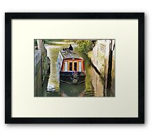 Gringley Lower Lock Gate Framed Print