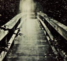 The Watcher on the Bridge Sticker