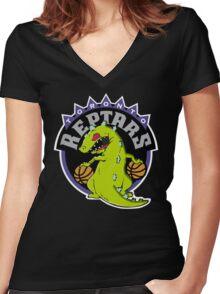 Toronto Reptars Women's Fitted V-Neck T-Shirt