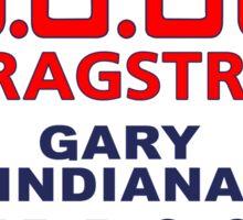 U.S.30 Dragstrip Shirt Sticker