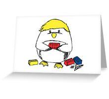 Luke Hemmings Limited Edition Penguin Shirt Greeting Card