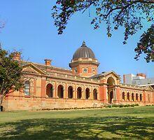 Goulburn Court House circa 1887 by Rosalie Dale